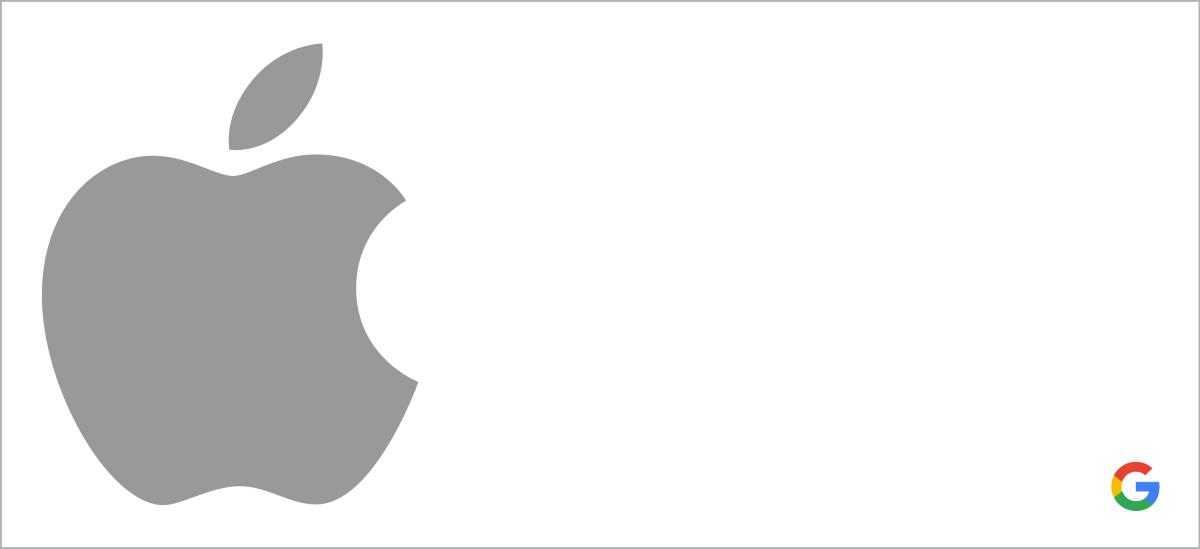 Apple Google header