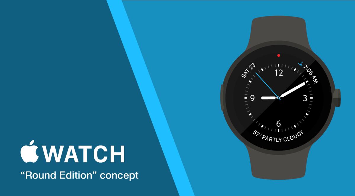 Round Apple Watch concept