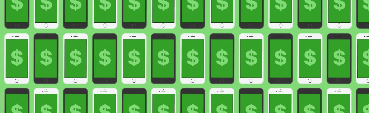 iPhone moneys