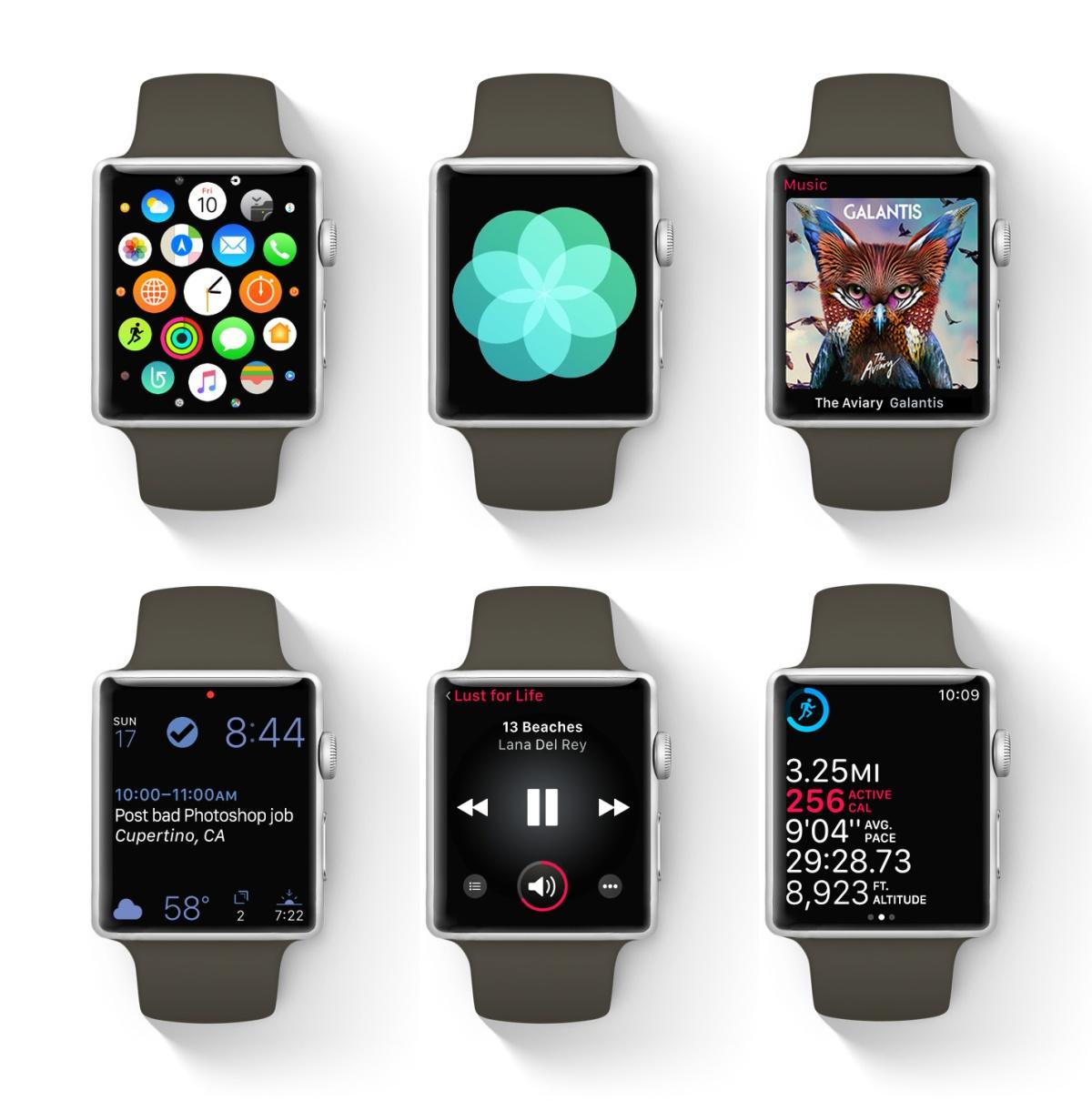 Apple Watch wee bezels