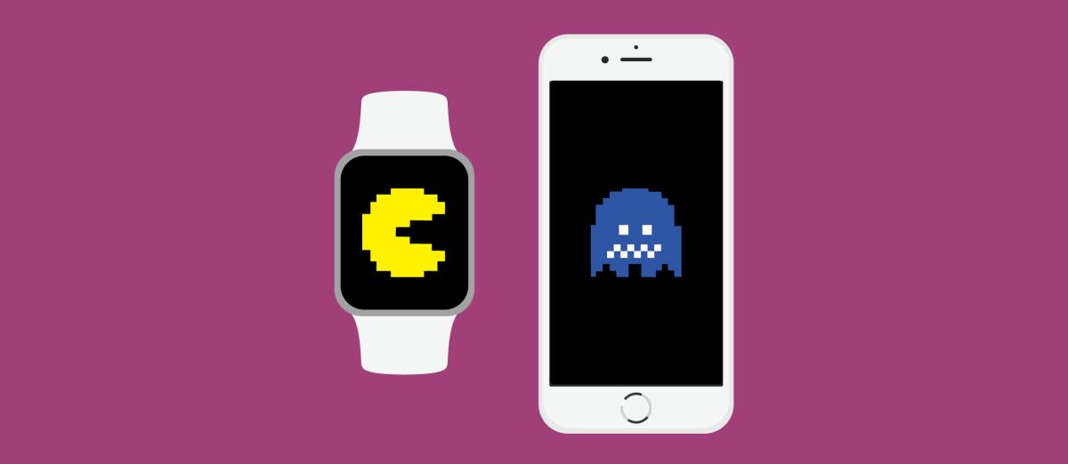 Watch, iPhone, Pac-Man