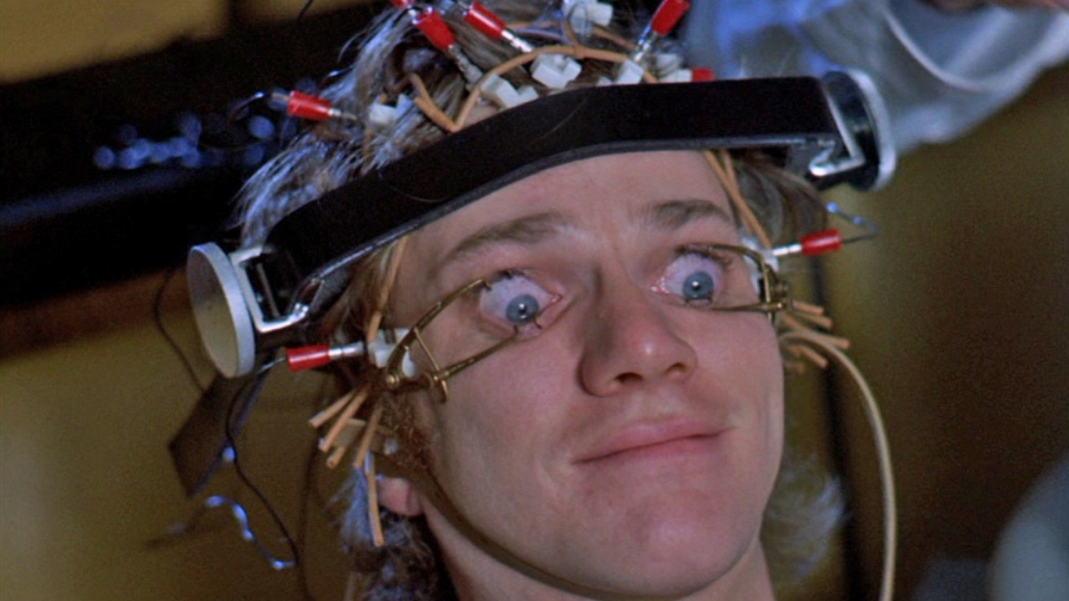 A Clockwork Orange eyes scene