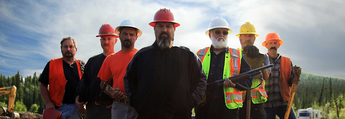 The crew from Discovery's Gold Rush.