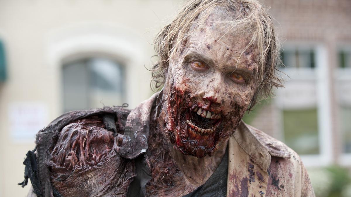 Grossness in The Walking Dead.