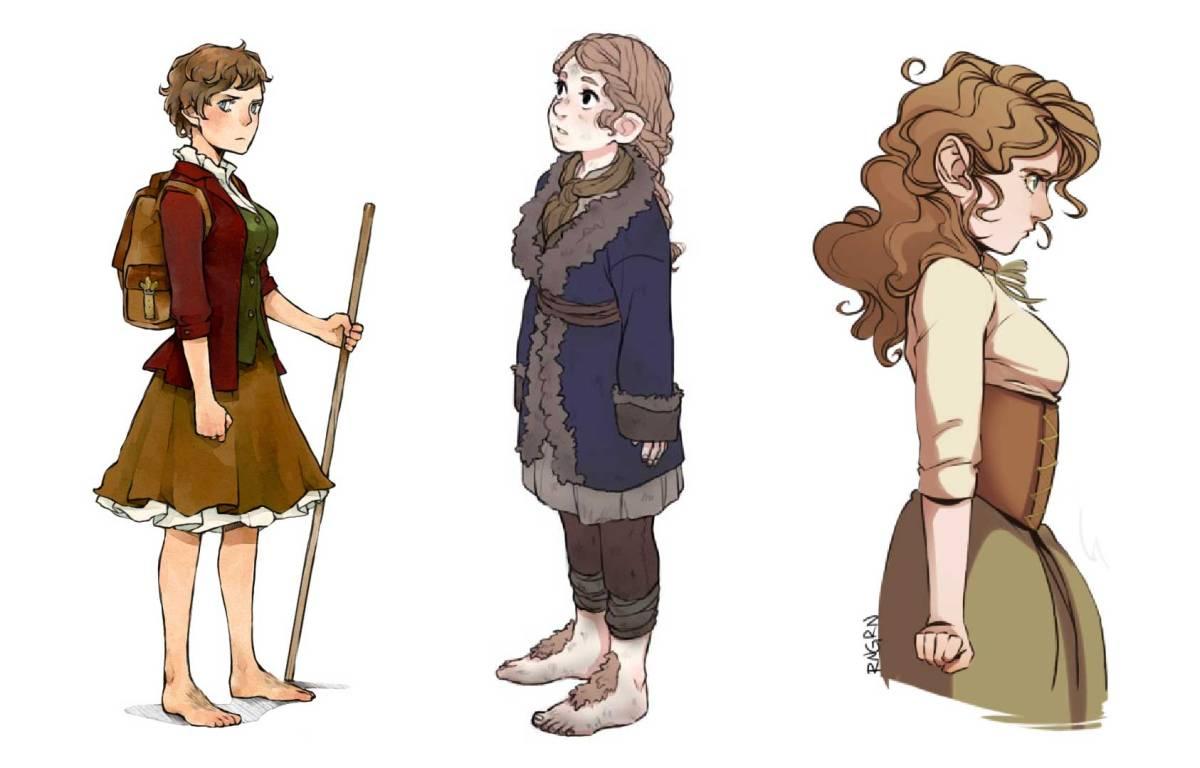 Female Bilbo