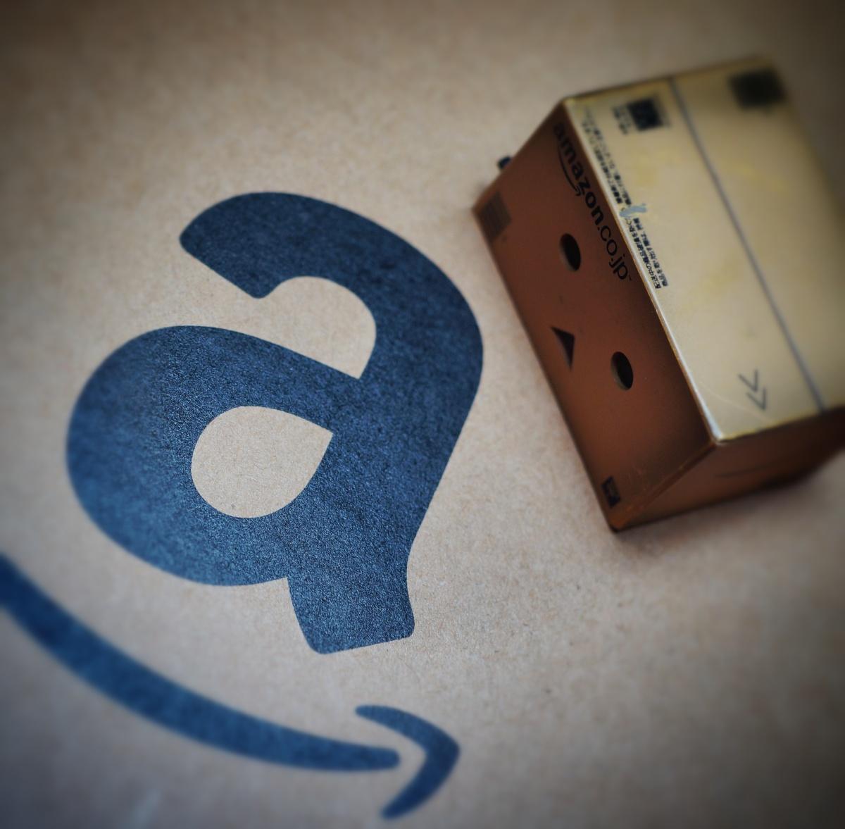 Amazon box.