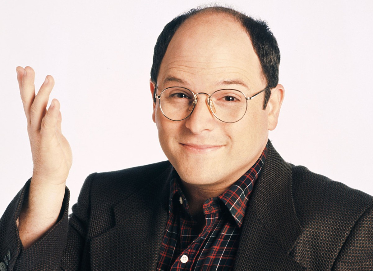"""George Costanza from """"Seinfeld."""""""