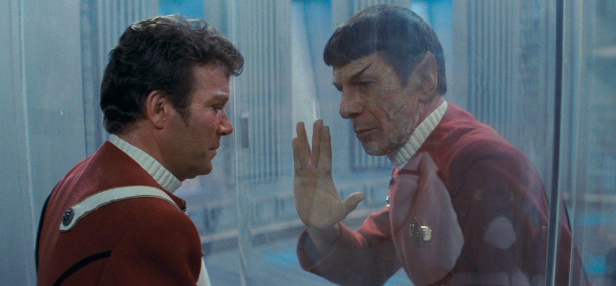 "Death of Spock in ""Wrath of Khan"""