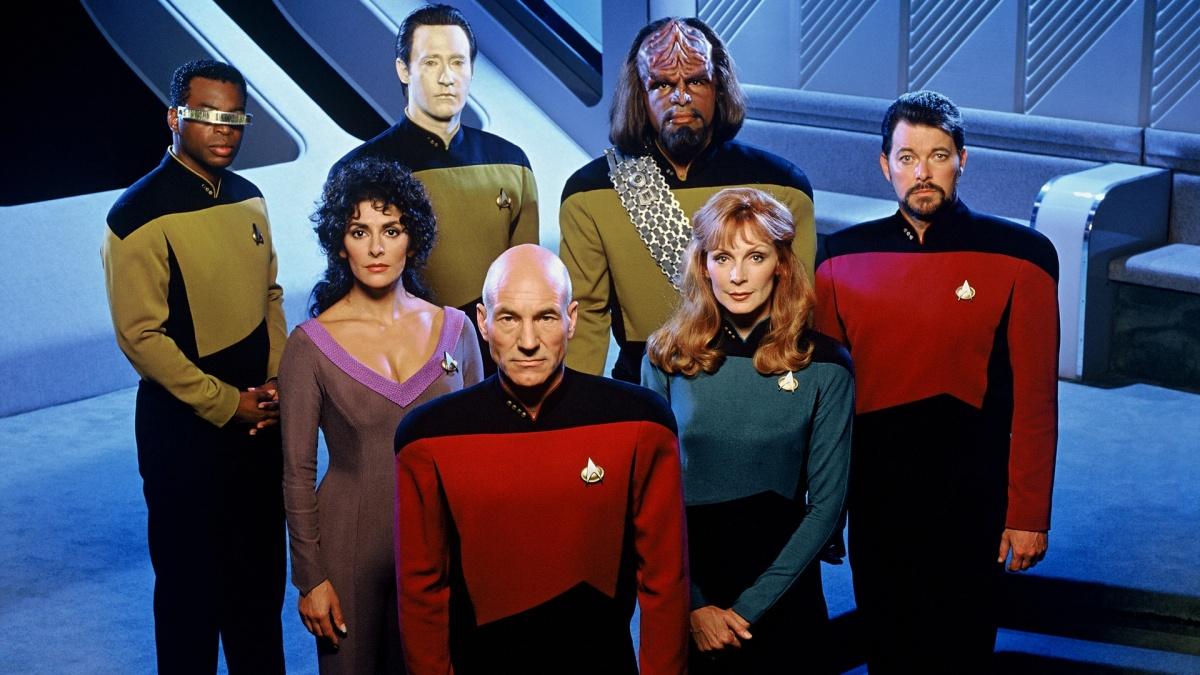 Cast of TNG.
