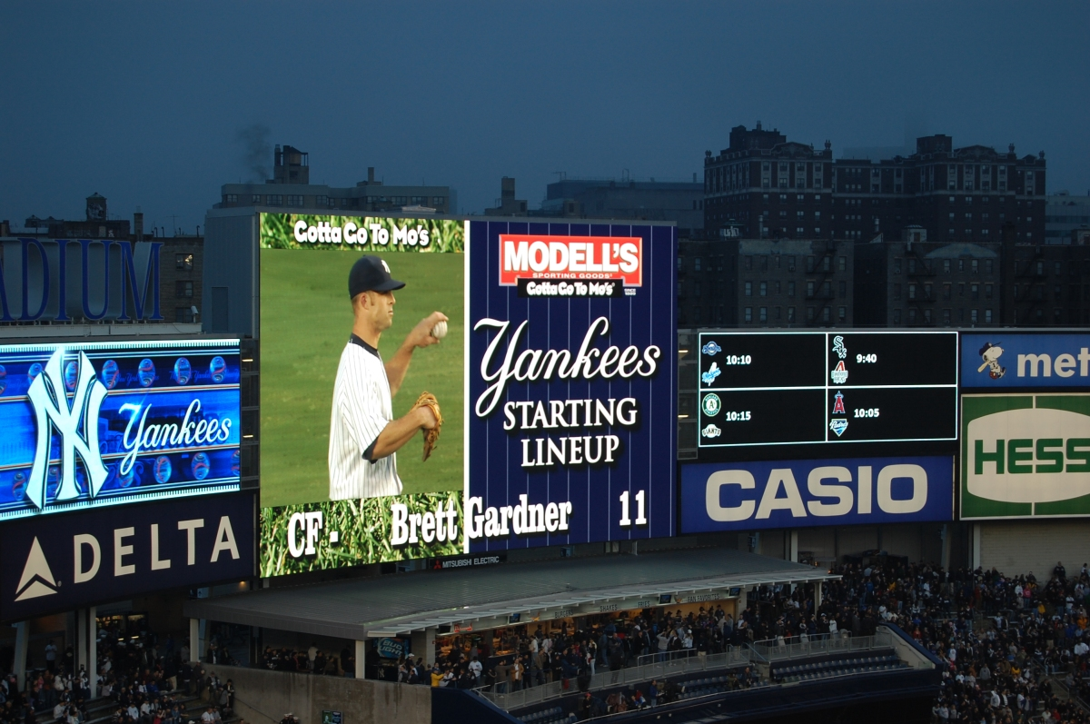Baseball billboards