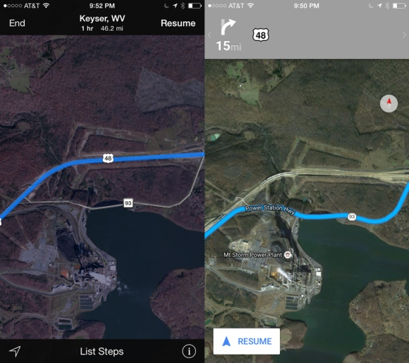 Apple and Google Maps