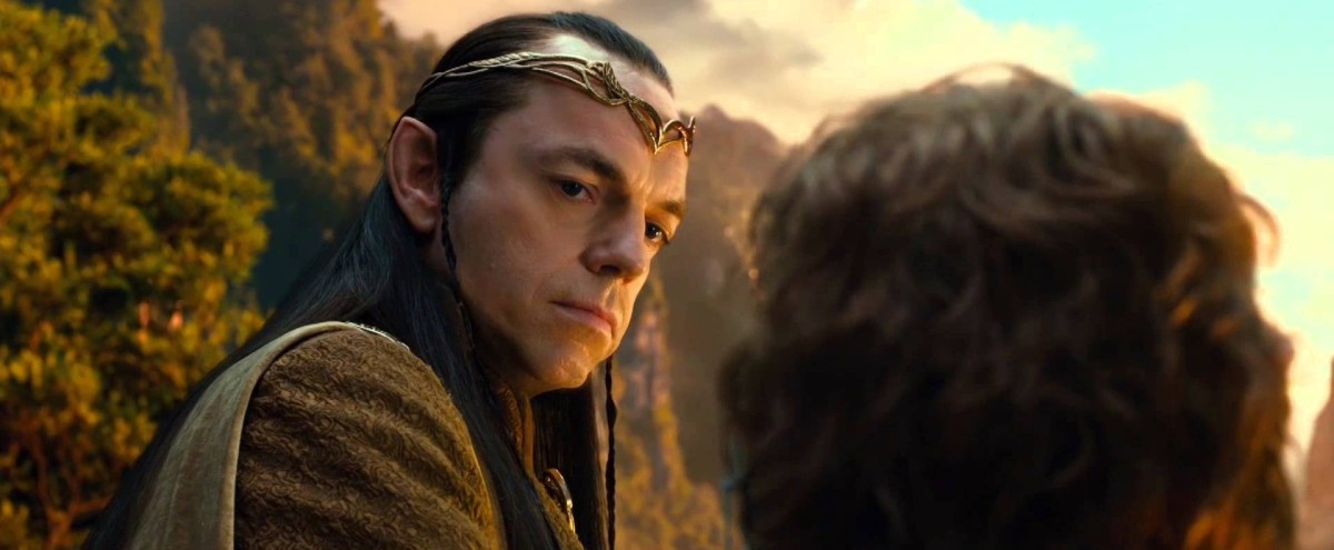 Elrond in The Hobbit.
